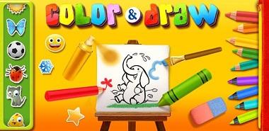 دانلود بازی Color Draw For Kids v 4.0 – اندروید